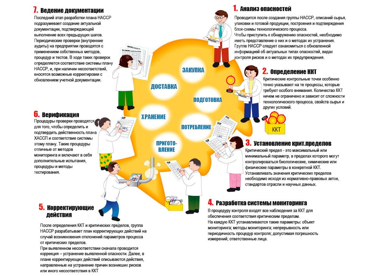 Принципы системы ХАССП (HACCP)