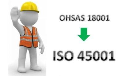 Увага! Новий стандарт ISO 45001:2018