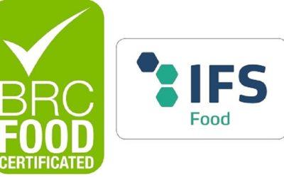 Сертифікація BRC та IFS для постачальників підприємств роздрібної торгівлі