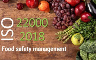 Перехід на ISO 22000: 2018 у порядку наглядового аудиту